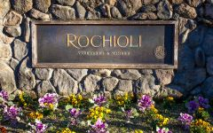 Rochioli Rochioli Entrance Sign Winery Image