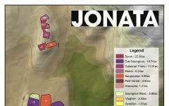 Jonata Jonata Varietal Map Winery Image