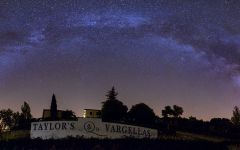 Taylor Fladgate Quinta de Vargellas at Night Winery Image