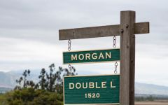 Morgan Winery Double L Vineyard Sign Winery Image