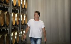 Hewitson Dean Hewitson in the Barrel Cellar  Winery Image