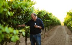 Balletto Winery John Balletto in the Vineyard Winery Image