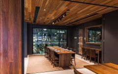 Brokenwood Dining Room Overlooking Barrel Hall Winery Image