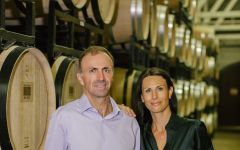 Merryvale Vineyards Rene Schlatter (CEO) with wife, Laurence Winery Image