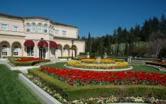 Ferrari-Carano Gardens on Dry Creek Estate Winery Image