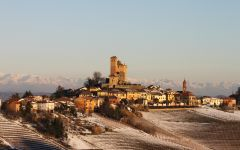 Massolino Serralunga d'Alba in Winter Winery Image