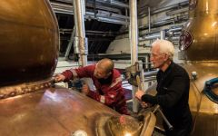 The Balvenie Coppersmith Denis McBain Winery Image
