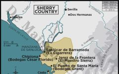 El Maestro Sierra Region Map Winery Image