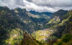 Broadbent Mountain landscape of Madeira Island Winery Image