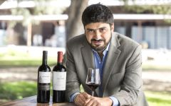 Altocedro Winemaker and Owner Karim Mussi Saffie  Winery Image