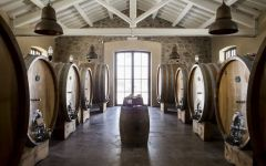Alberico Large Barrels for Graceful Aging Winery Image