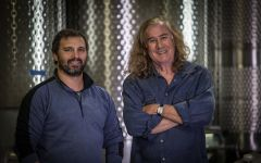 DeLille Cellars Winemaker Jason Gorski & Chris Upchurch Winery Image