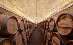 Marques de Riscal Wine Barrels Winery Image