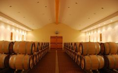 Chateau Certan de May Barrel Cellar  Winery Image