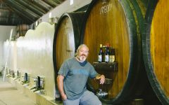 Badenhorst Adi Badenhorst in cellar  Winery Image