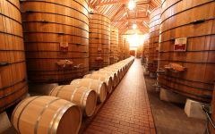 Jordan Vineyard & Winery Jordan Barrel Room Winery Image