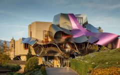 Marques de Riscal Marques de Riscal Hotel at night Winery Image