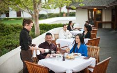 Wente Vineyards Restaurant Patio at the winery Winery Image