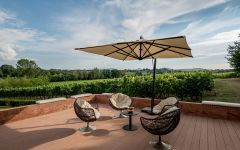 Poliziano Patio Tasting Winery Image