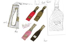Haute Couture Haute Couture French Bubbles Sketches Winery Image