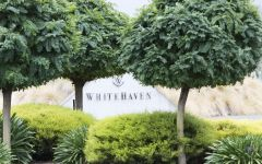Whitehaven  Whitehaven Sign with trees Winery Image