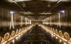 Marques de Murrieta Castillo de Ygay barrels Winery Image