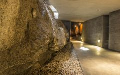 Bodega Garzon Uruguay Balasto Rock Inside the Winery Winery Image