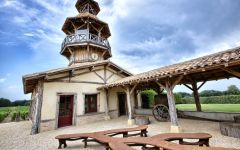 Chateau Smith Haut Lafitte Barrel Cooperage Winery Image