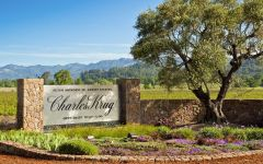 Charles Krug Charles Krug Winery Entrance Winery Image