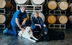 Morgan Winery Owners Dan and Donna Lee Winery Image