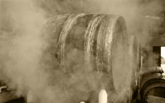 Marques de Murrieta Barrels in steam Winery Image