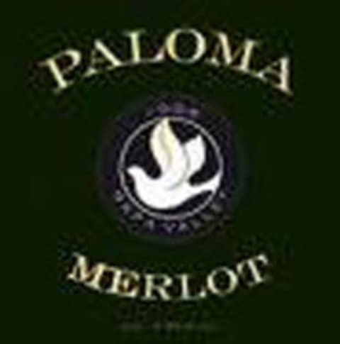 Paloma Spring Mountain Merlot 2002 Front Label