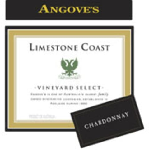 Angove Family Winemakers Limestone Coast Chardonnay 2006 Front Label