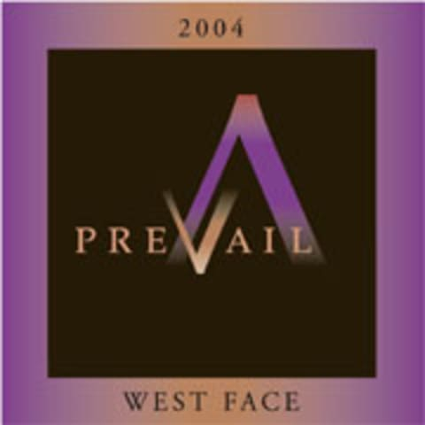PreVail Alexander Valley West Face 2004 Front Label
