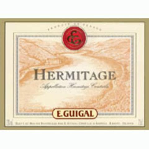 Guigal Hermitage Blanc 2005 Front Label