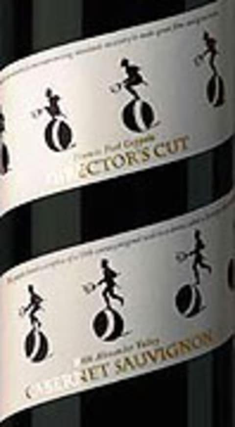 Francis Ford Coppola Director's Cut Alexander Valley Cabernet Sauvignon 2007 Front Label