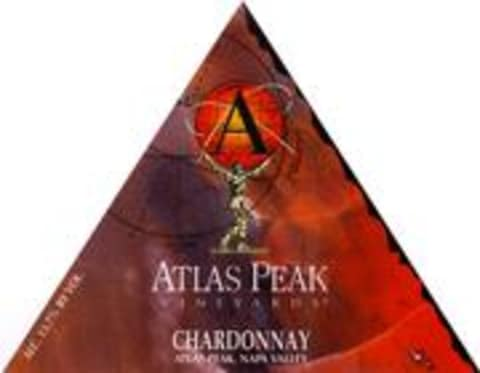 Atlas Peak Chardonnay 1997 Front Label