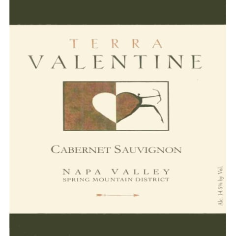 Terra Valentine Spring Mountain District Cabernet Sauvignon 2006 Front Label