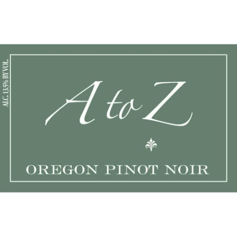 A to Z Pinot Noir 2008 Front Label