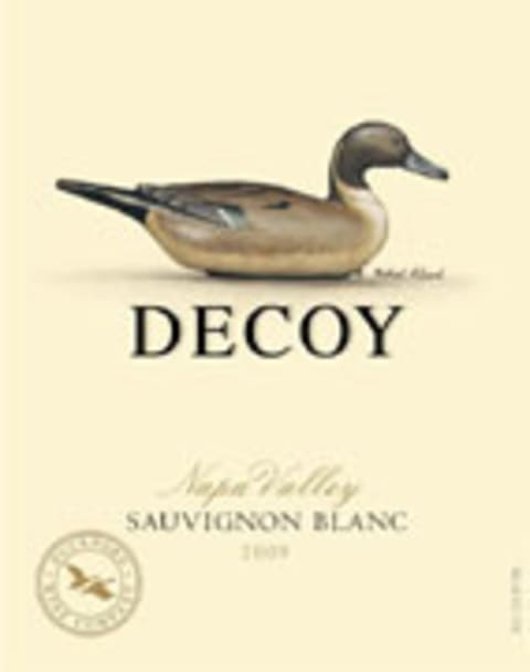 Decoy Sauvignon Blanc 2009 Front Label