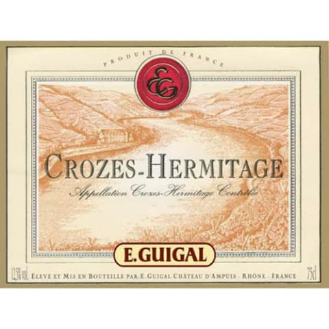 Guigal Crozes Hermitage 2006 Front Label