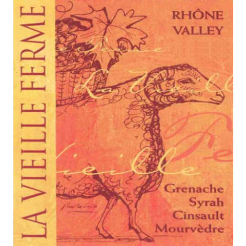 La Vieille Ferme Rouge 2009 Front Label