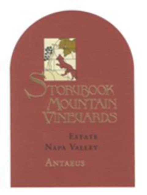 Storybook Mountain Antaeus 2005 Front Label