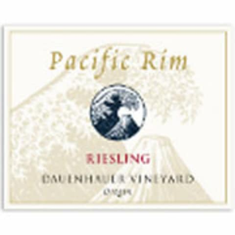 Pacific Rim Dauenhauer Vineyard Riesling 2007 Front Label