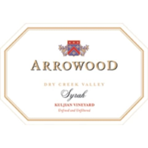 Arrowood Kuljian Dry Creek Syrah 2006 Front Label