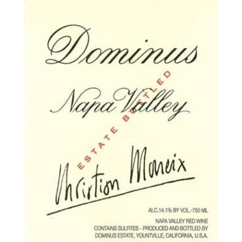 Dominus Estate (6 Liter Bottle) 2007 Front Label