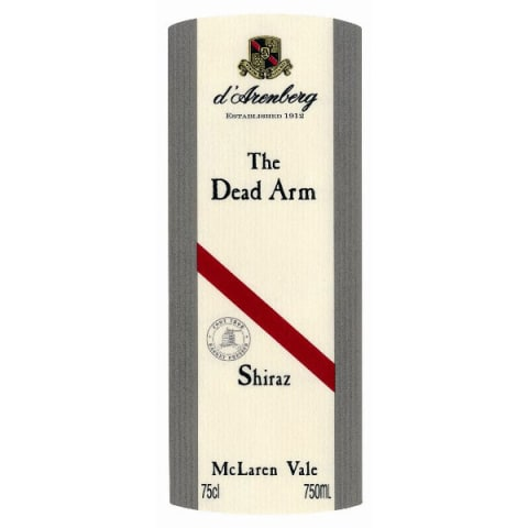 d'Arenberg The Dead Arm Shiraz 2008 Front Label