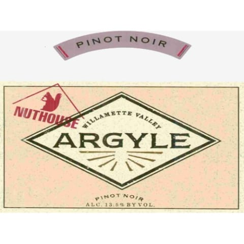 Argyle Nuthouse Pinot Noir 2007 Front Label