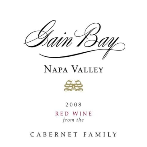 Gain Bay Cabernet Family 2008 Front Label