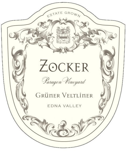 Zocker Paragon Vineyard Gruner Veltliner 2009 Front Label
